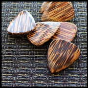Timber Tones - Coconut - 4 Guitar Picks | Timber Tones
